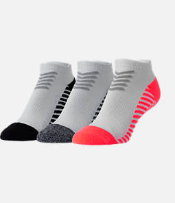 Women's Finish Line 3-Pack No Show Tab Socks