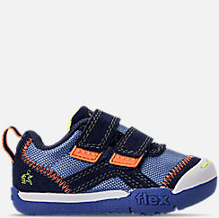 Boys' Toddler Skechers Flex Play - Double Duty Hook-and-Loop Athletic Shoes