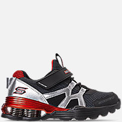 Boys' Little Kids' Skechers Mega-Volt Hook-and-Loop Running Shoes