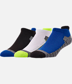 Men's Finish Line 3-Pack Marled No-Show Tab Socks
