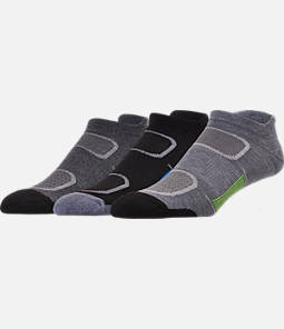 Men's Finish Line Performance 3-Pack No-Show Tab Socks