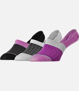 Women's Finish Line 3-Pack Footie Socks