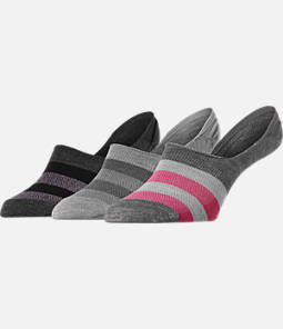 Women's Finish Line 3-Pack Footie Socks