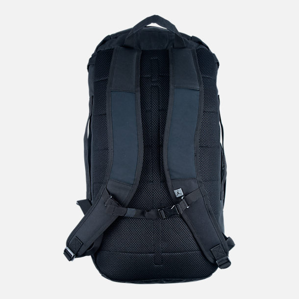 Alternate view of Jordan Velocity Backpack in Black/White