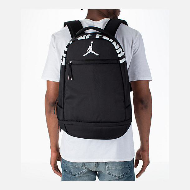Alternate view of Jordan City of Flight Backpack in Black