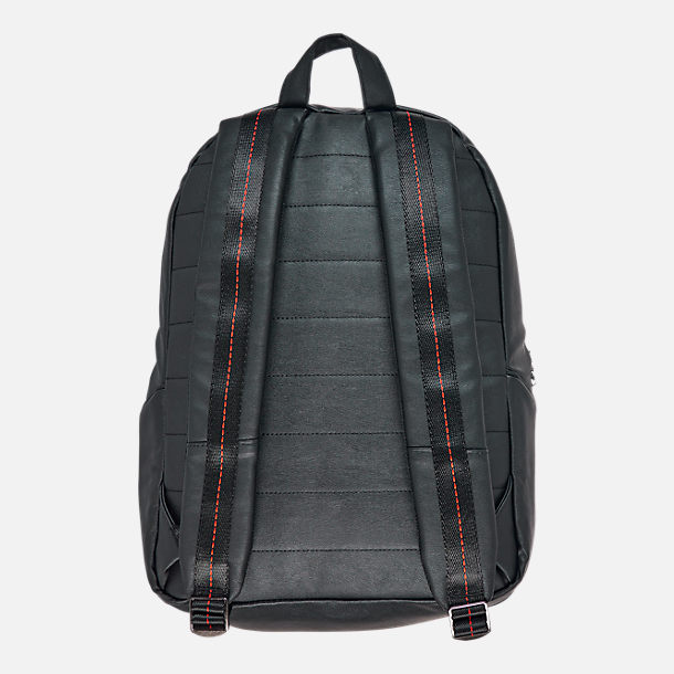 Back view of Air Jordan Regal Air Backpack in Black/Gym Red