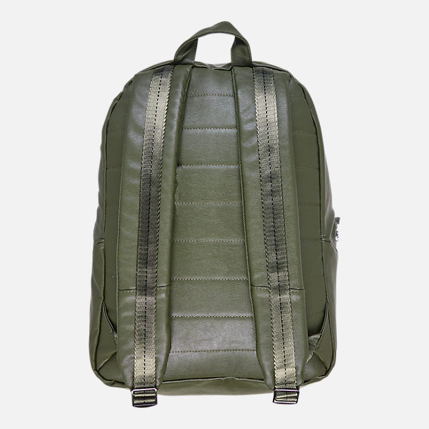 Back view of Air Jordan Regal Air Backpack in Olive/Gunmetal