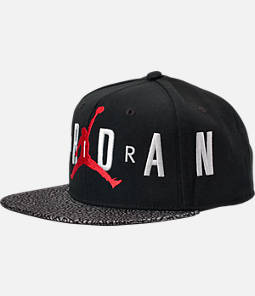 Kids' Air Jordan Elephant Print Snapback Hat
