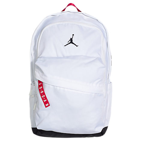 Nike Jordan Air Patrol Backpack In White 100% Polyester