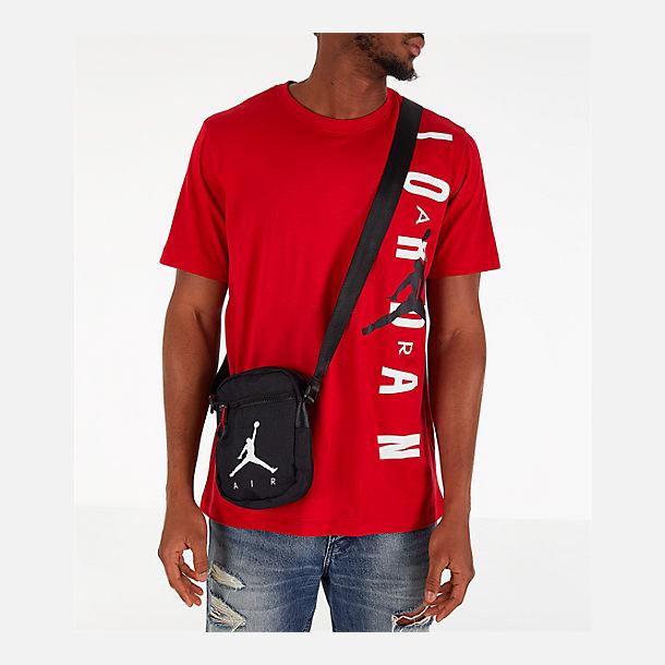 49e4fbce4c6 Alternate view of Jordan Air Festival Bag in Black/Gym Red/White