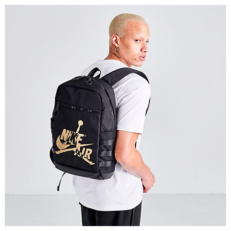 Nike Jordan Air Jumpman Classic Backpack In Black