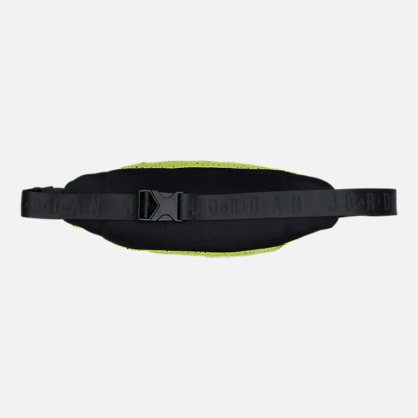 Back view of Jordan Poolside Waist Pack in Cyber/Hyper Pink