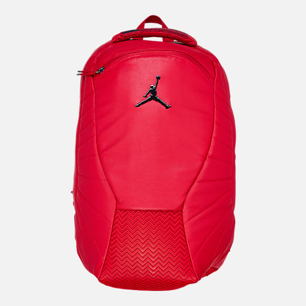 1e44e63a0d1b Front view of Air Jordan Retro 12 Backpack