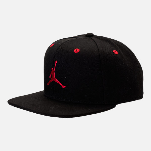 Front view of Kids' Jordan Snapback Hat