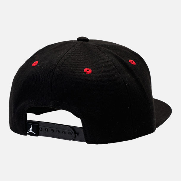 Back view of Kids' Jordan Snapback Hat