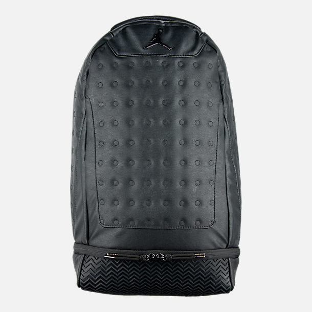 Front view of Air Jordan Retro 13 Backpack
