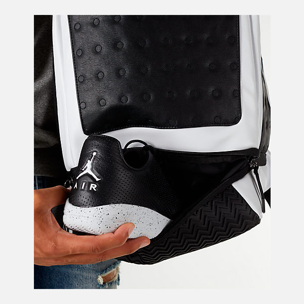 Alternate view of Air Jordan Retro 13 Backpack in Black/White