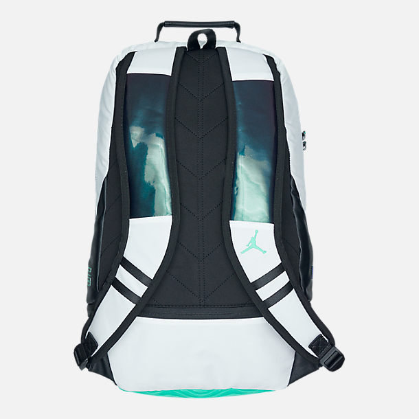 Alternate view of Air Jordan Retro 11 Backpack in White/Emerald Rise