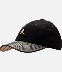 Kids' Jordan Gold City Strapback Hat