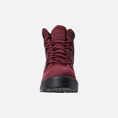 Front view of Men's Timberland 6 Inch Field Boots in Port
