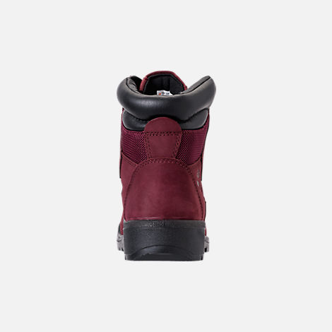 Back view of Men's Timberland 6 Inch Field Boots in Port