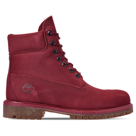 TIMBERLAND Six Inch Classic Waterproof Boots Series - Premium Waterproof Boot in Red