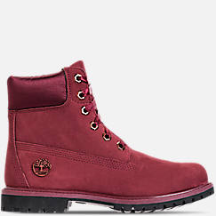 Women's Timberland 6 Inch Classic Premium Wide Satin Lace Boots
