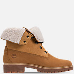 Women's Timberland Jayne Waterproof Fleece Fold-Down Boots
