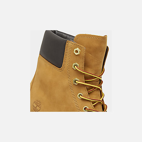 Front view of Women's Timberland Jayne 6 Inch Waterproof Boots in Wheat Nubuck