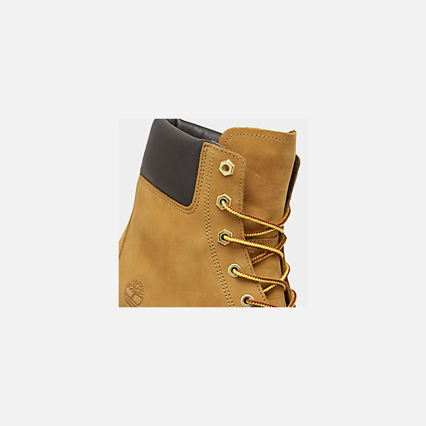 cf1c1c8841e1a Front view of Women's Timberland Jayne 6 Inch Waterproof Boots in Wheat  Nubuck