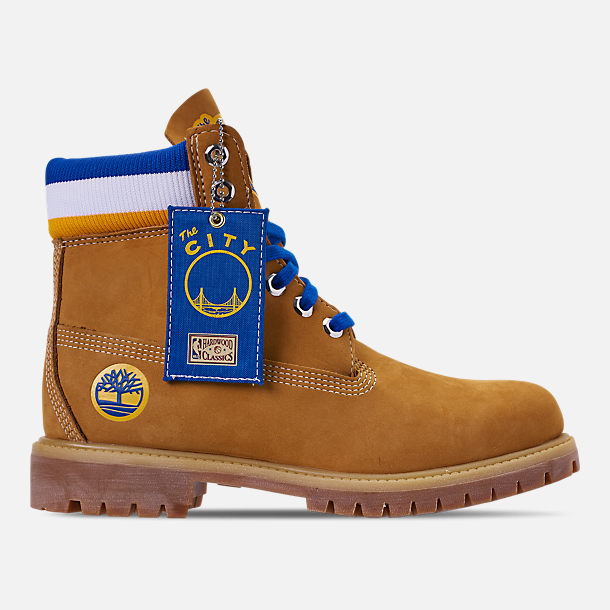 be787d48 Right view of Men's Timberland x Mitchell and Ness x Golden State Warriors  NBA 6 Inch