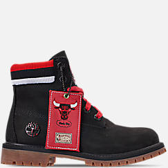 Boys' Big Kids' Timberland x Mitchell and Ness x NBA Chicago Bulls 6 Inch Classic Premium Boots
