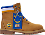 Wheat Nubuck/Blue - Golden State Warriors