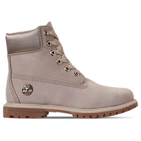Timberland Women S 6 Inch Classic Premium Wide Satin Lace Boots ... 4149451bd