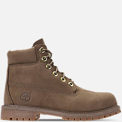 Boys' Big Kids' Timberland 6-Inch Classic Premium Canvas Boots