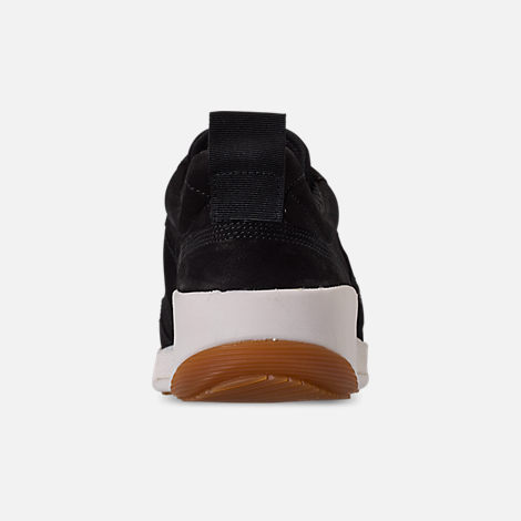 Back view of Women's Timberland Kiri Up Leather Casual Shoes in Black Nubuck