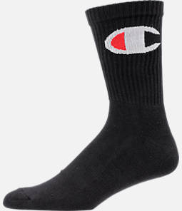 Men's Champion Big C Crew Socks