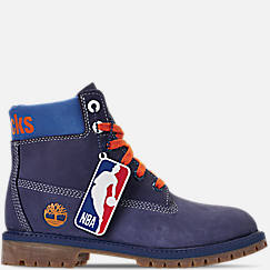 Boys' Big Kids' Timberland x NBA New York Knicks 6 Inch Classic Premium Boots
