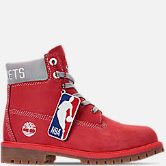 Boys' Big Kids' Timberland x NBA Houston Rockets 6 Inch Classic Premium Boots