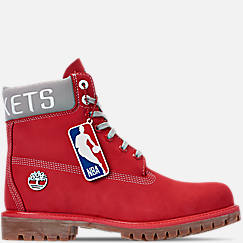 Men's Timberland Houston Rockets NBA 6 Inch Classic Premium Boots