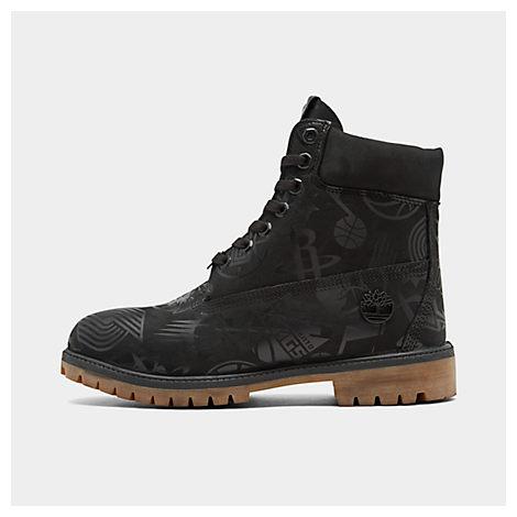 Timberland Boots MEN'S X NBA EAST VS. WEST 6 INCH CLASSIC PREMIUM BOOTS, BLACK