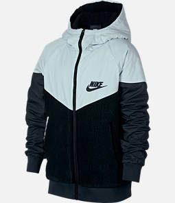Boys' Nike Windrunner Sherpa Full-Zip Jacket