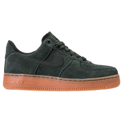 WOMEN'S AIR FORCE 1 '07 SE CASUAL SHOES, GREEN