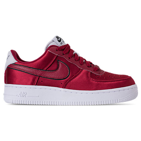 WOMEN'S AIR FORCE 1 '07 SE CASUAL SHOES, RED