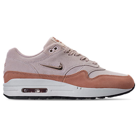 Women'S Air Max 1 Premium Sc Casual Shoes, Brown, Guava Ice/ Red Bronze/ Blush