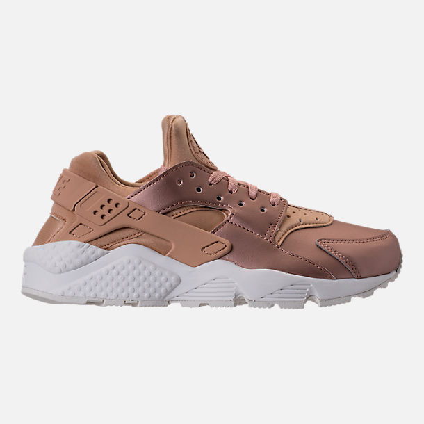 Right view of Women's Nike Air Huarache Run Premium TXT Casual Shoes in Elm/Metallic Red Bronze/Summit