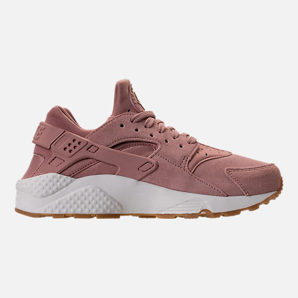 Right view of Women's Nike Air Huarache Run SD Running Shoes in Particle Pink/Gum Medium Brown/Ivory