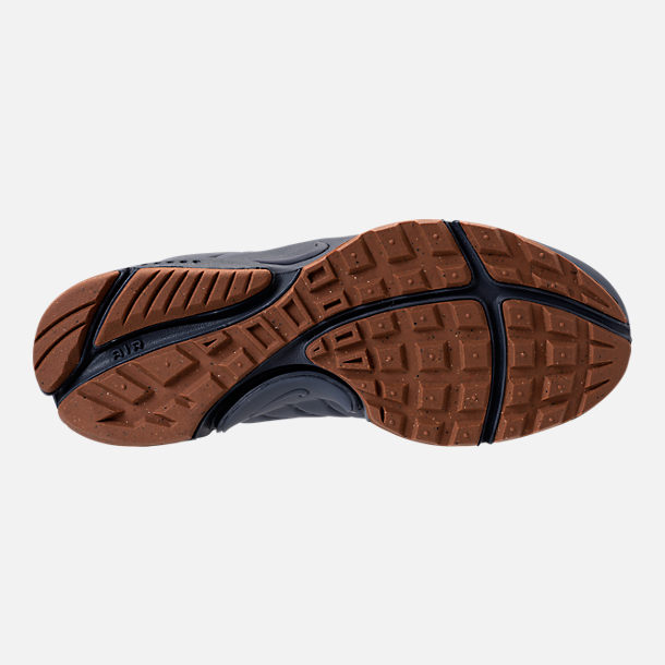 40efaaaa432c Bottom view of Women s Nike Air Presto Mid Utility Premium Casual Shoes in  Light Carbon