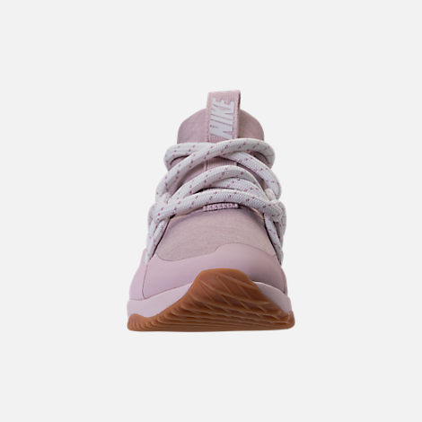 Front view of Women's Nike City Loop Casual Shoes in Particle Rose/Summit White/Barely Rose