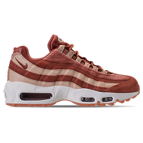 WOMEN'S AIR MAX 95 LX CASUAL SHOES, RED